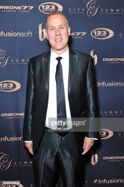 Philanthropist Darren Jacklin of the Darren Jacklin Foundation attends City Summit Wealth Mastery And Mindset Edition afterparty at Allure Banquet...