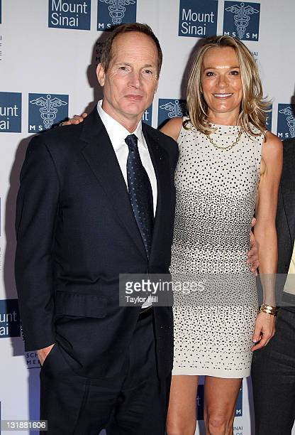Philanthropist Glenn Dubin and Dr Eva AnderssonDubin attend the opening of Dubin Breast Center at the Tisch Cancer Institute at Mount Sinai Hospital...