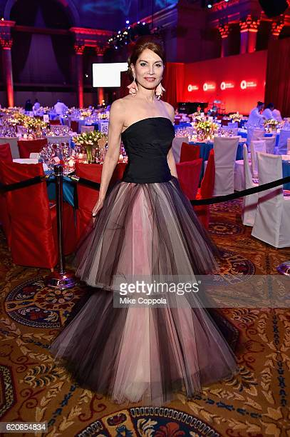 Philanthropist Jean Shafiroff attends the 15th Annual Elton John AIDS Foundation An Enduring Vision Benefit at Cipriani Wall Street on November 2...