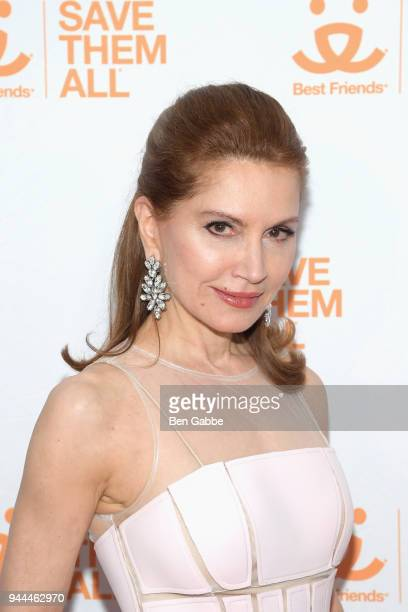 Philanthropist Jean Shafiroff attends the Best Friends Animal Society's 3rd Annual New York City Gala at Guastavino's on April 10 2018 in New York...