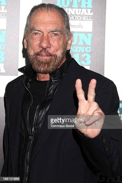 Philanthropist John Paul DeJoria attends the Paul Mitchell's 10th Annual Fundraiser held at The Beverly Hilton Hotel on May 5 2013 in Beverly Hills...