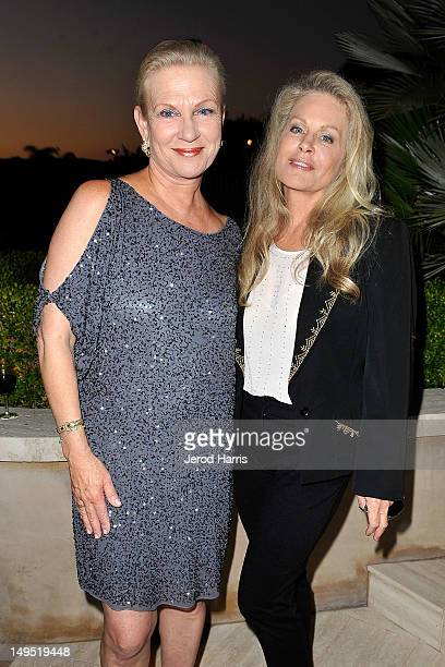 Philanthropist Karen Cahill and actress Beverly D'Angelo attend Oceana's SeaChange Summer Party at a private residence on July 29 2012 in Laguna...