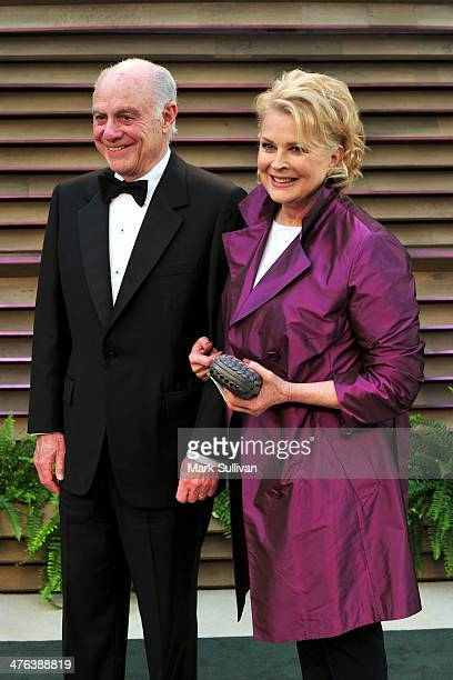 Philanthropist Marshall Rose and actress Candice Bergen attend the 2014 Vanity Fair Oscar Party hosted by Graydon Carter on March 2, 2014 in West...