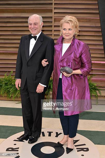 Philanthropist Marshall Rose and actress Candice Bergen attends the 2014 Vanity Fair Oscar Party hosted by Graydon Carter on March 2, 2014 in West...