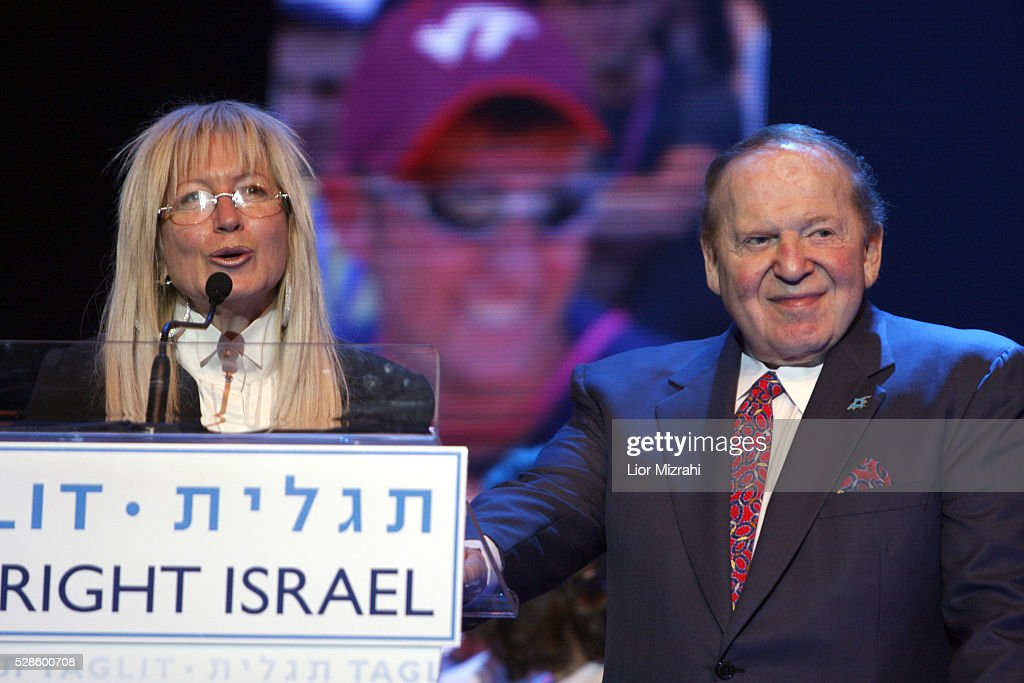 Sheldon Adelson And Miriam Adelson : News Photo