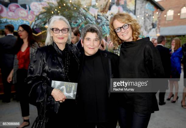 Philanthropist Susan Nimoy, CAP UCLA Executive and Artistic Director Kristy Edmunds, and Director of Hammer Musuem Ann Philbin attend as CAP UCLA...