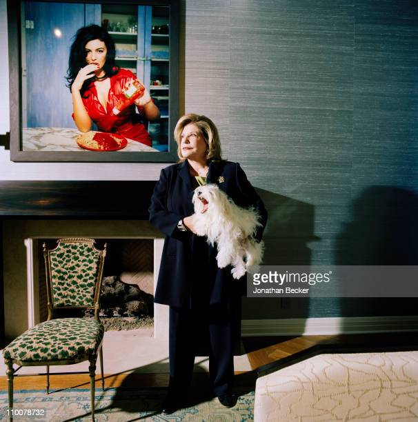 Philanthropist/art collector Wallis Annenberg is photographed for Vanity Fair Magazine on December 12, 2008 in Century City, California. Published...