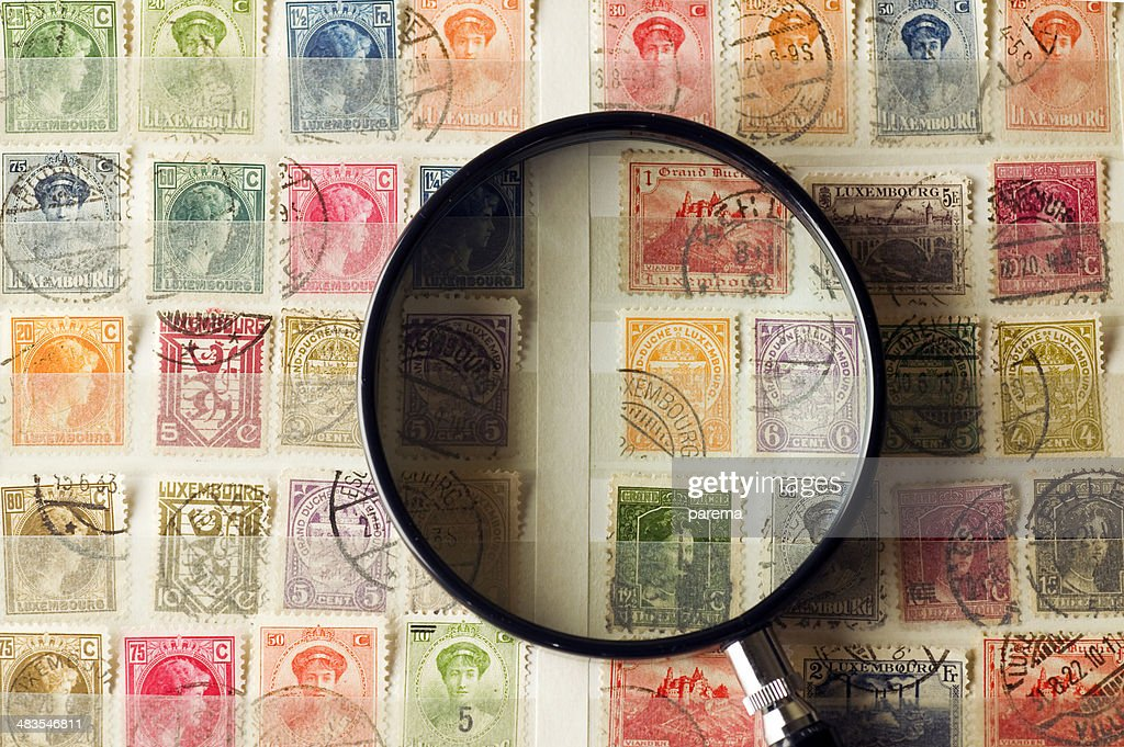 Philately, postage stamps.