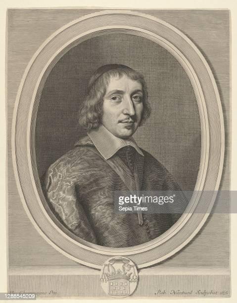 Philibert-Emmanuel de Beaumanoir de Lavardin Engraving; third state of five [?] , Sheet: 12 5/16 × 9 1/2 in. , Prints, Robert Nanteuil , After...