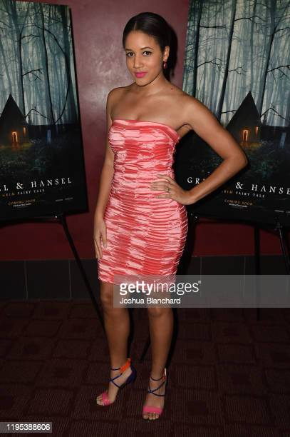 Philicia Saunders attends the Los Angeles Special Screening of Gretel Hanselon January 22 2020 in Los Angeles California