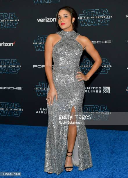 Philicia Saunders attends the Premiere of Disney's Star Wars The Rise Of Skywalker on December 16 2019 in Hollywood California