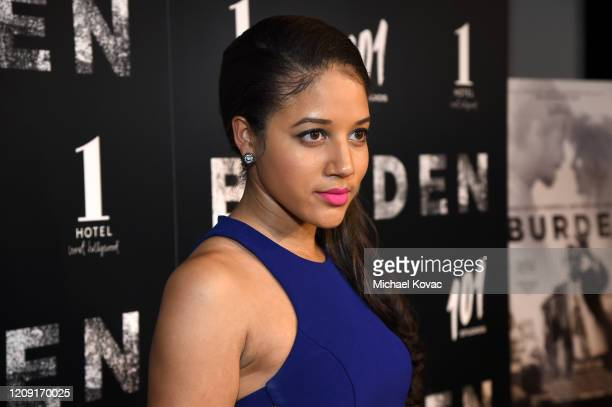 Philicia Saunders attends the LA screening of BURDEN on February 27 2020 in Los Angeles California