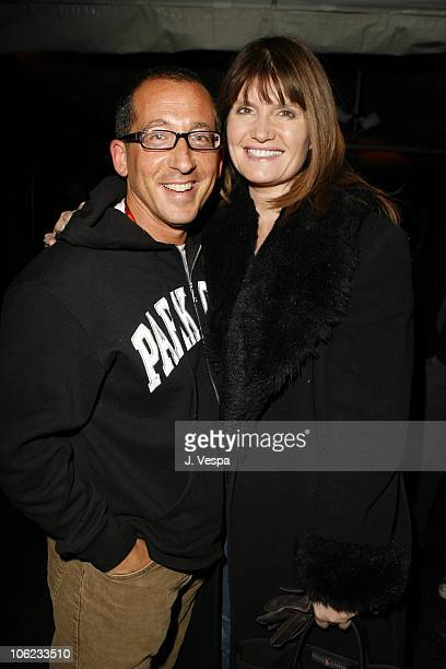Philip Alberstat and Alexa Jago during 2007 Park City William Morris Party at The Shop in Park City Utah United States