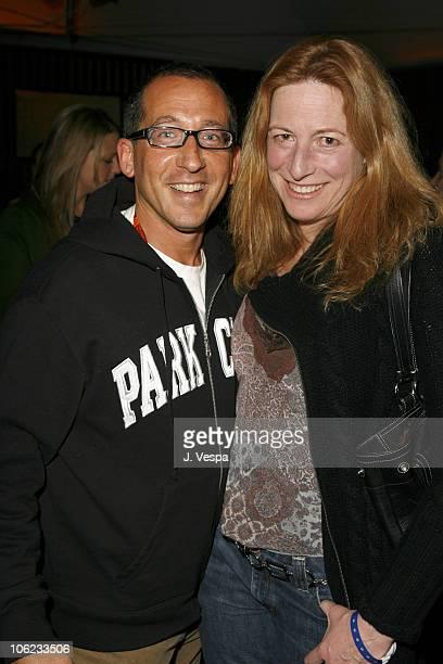 Philip Alberstat and Deborah Scranton during 2007 Park City William Morris Party at The Shop in Park City Utah United States