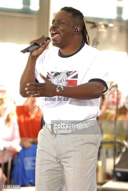 Philip Bailey during Earth Wind and Fire with Kelly Rowland Perform on NBC's The Today Show Summer Concert Series June 16 2006 at NBC Studios in New...