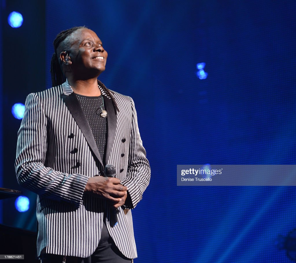Philip Bailey of Earth, Wind & Fire performs during debut of new CD For HSN Live broadcast special at The Venetian Las Vegas on August 30, 2013 in Las Vegas, Nevada.