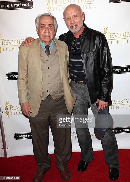 Philip Baker Hall and Hector Elizondo attend 11th annual Beverly Hills Film Festival opening night on April 6 2011 in Beverly Hills California