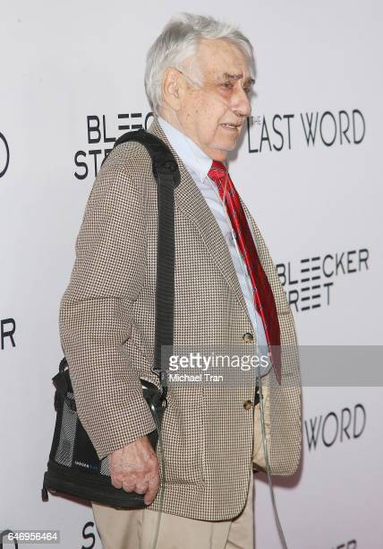 Philip Baker Hall arrives at the Los Angeles premiere of The Last Word held at ArcLight Hollywood on March 1 2017 in Hollywood California