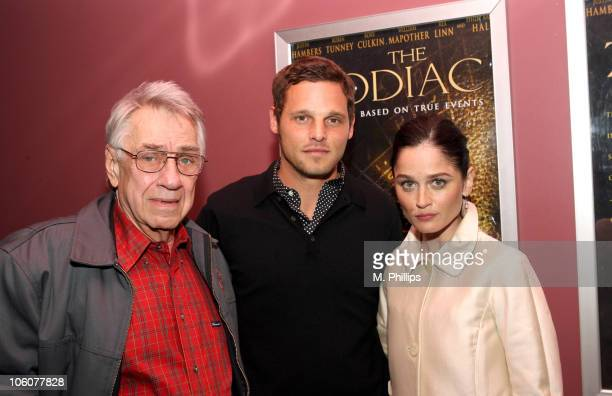 Philip Baker Hall Justin Chambers and Robin Tunney