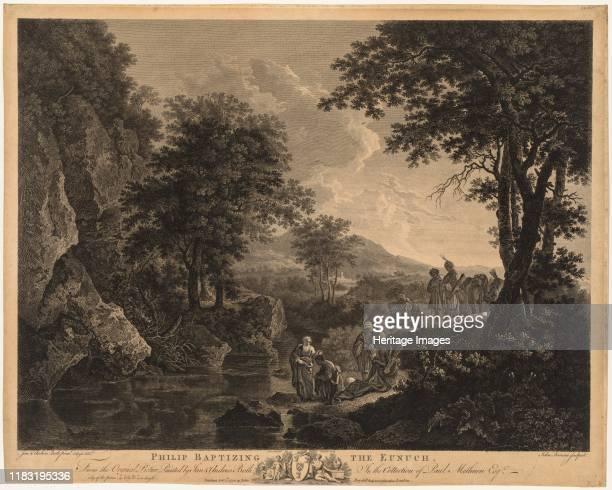 Philip Baptising the Eunuch, 1772. Creator Lucas Cranach .