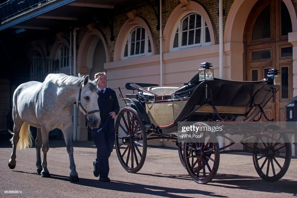 Royal Mews At Buckingham Palace : Nachrichtenfoto