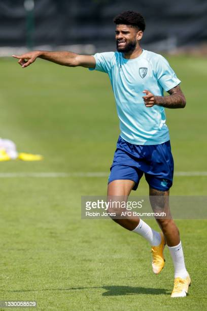Philip Billing of Bournemouth during a pre-season training session at Vitality Stadium on July 22, 2021 in Bournemouth, England.