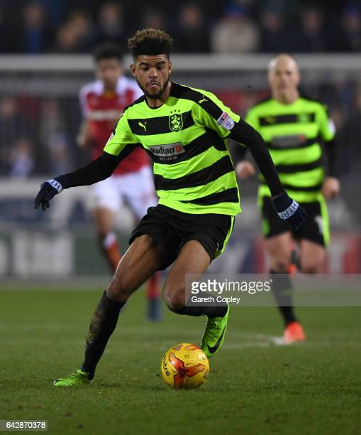 Philip Billing of Huddersfield during the Sky Bet Championship match between Rotherham United and Huddersfield Town at The New York Stadium on...