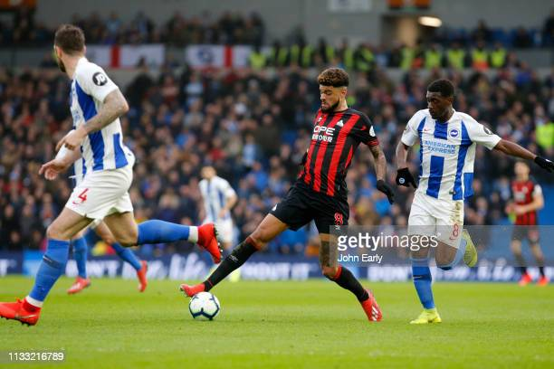 Philip Billing of Huddersfield Town during the Premier League match between Brighton Hove Albion and Huddersfield Town at American Express Community...