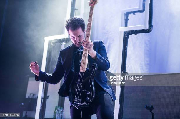 Philip Blake of Nothing But Thieves perform at The Roundhouse on November 17 2017 in London England
