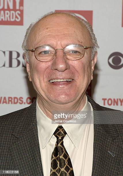 Philip Bosco during 59th Annual Tony Awards 'Meet The Nominees' Press Reception at The View at The Marriot Marquis in New York City New York United...