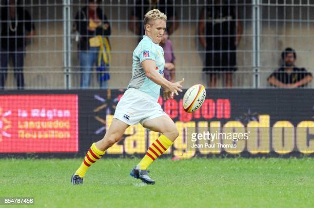 Philip BURGER Stade Francais / Perpignan 3eme journee de Top 14