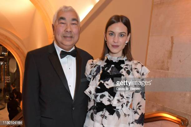 Philip Chung and Alexa Chung attend The Portrait Gala 2019 hosted by Dr Nicholas Cullinan and Edward Enninful to raise funds for the National...