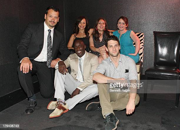 Philip Courtney Rosie Perez Anna Strout Rachel Dratch Kenneth Williams and Justin Bartha attend the 2011 Urban Arts Partnership Prom Party at The...