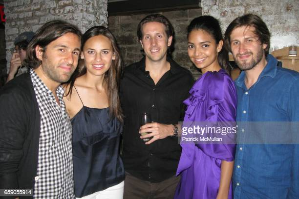 Philip Eytan Ariel Ashe Rob Camper Losmir Rodriguez and Roman attend Tribeca Film Festival Hosts Afterparty Celebration for Girlfriend Experience at...
