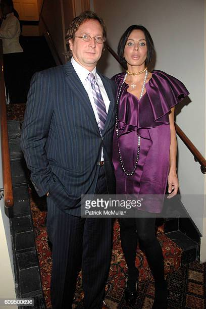Philip Falcone and Lisa Falcone attend NEW YORKERS FOR CHILDREN 2007 Fall Gala at 583 Park Avenue on September 18 2007 in New York City