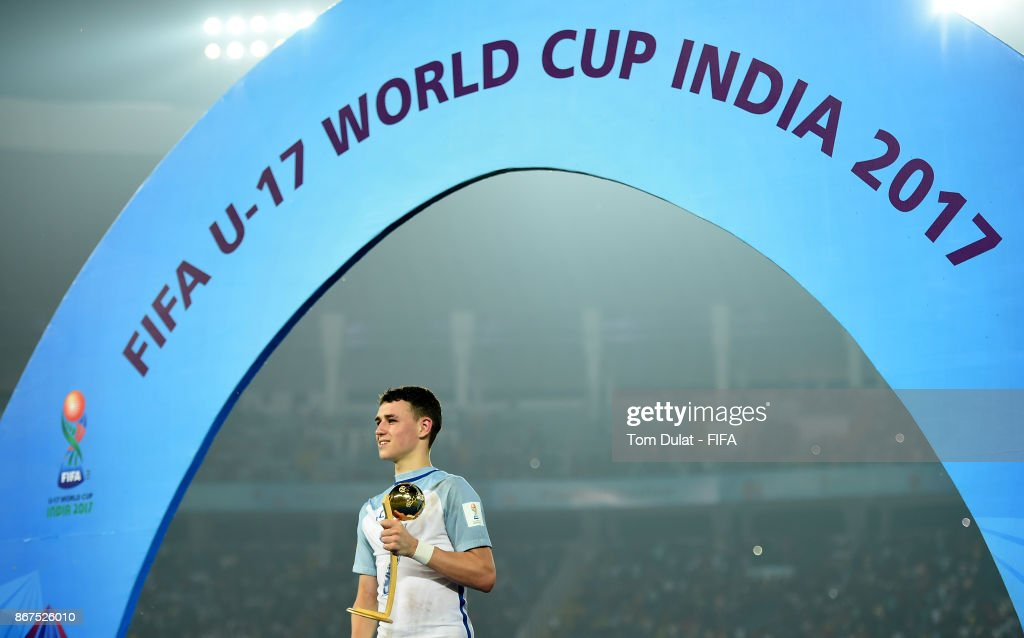 England v Spain - FIFA U-17 World Cup India 2017 Final : News Photo