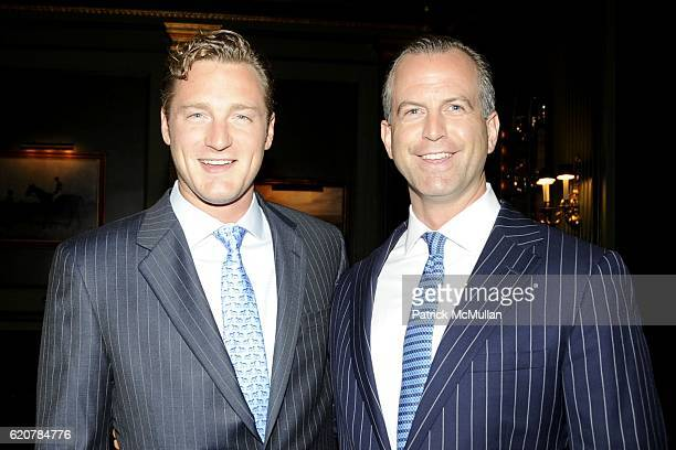 Philip Gaucher and Charles Manger attend The Parents of GENEVIEVE BARTLETT BAHRENBURG and PHILIP EMILE GAUCHER JR Host The Engagement of Their...