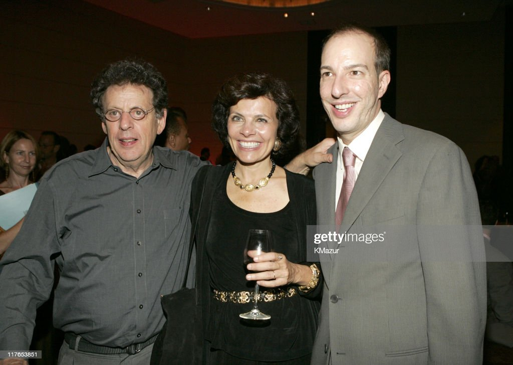 Philip Glass, Nadine Strossen, president of ACLU and Anthony Romero, executive director of ACLU