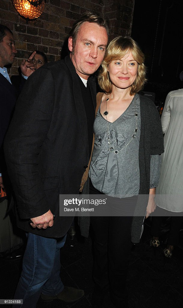 Philip Glenister attends the afterparty following the press night of 'Speaking In Tongues', at the Jewell Bar on September 28, 2009 in London, England.