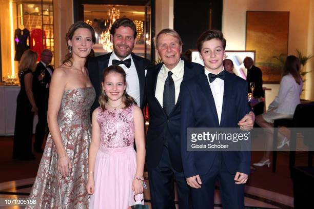 Philip Greffenius and his wife Evelyn Greffenius and their children daughter Olivia Greffenius and son Luke Greffenius and his father Gunter...