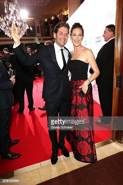 Philip Greffenius and his wife Evelyn Greffenius during the 10th Audi Generation Award 2016 at Hotel Bayerischer Hof on December 7 2016 in Munich...