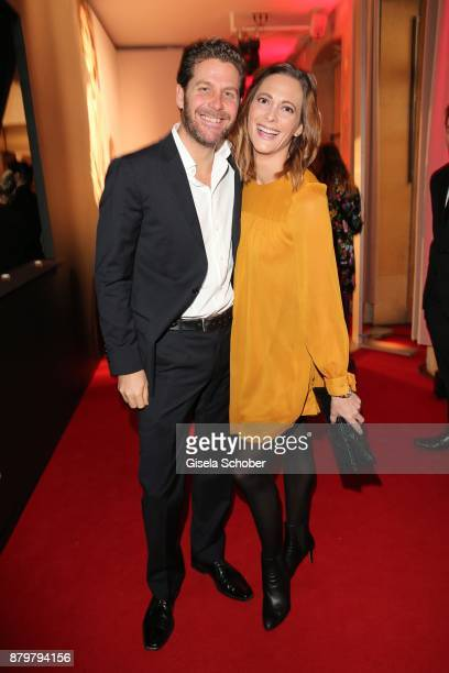 Philip Greffenius and his wife Evelyn Greffenius during the New Faces Award Style 2017 at 'The Grand' hotel on November 15 2017 in Berlin Germany