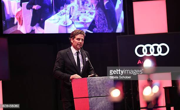 Philip Greffenius during the 10th Audi Generation Award 2016 at Hotel Bayerischer Hof on December 7 2016 in Munich Germany