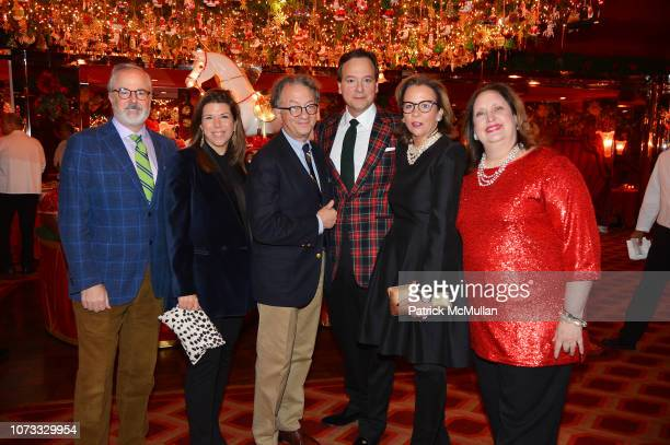 Philip Hodges Stellene Volandes William Ivey Long George Farias Jane Scott Hodges and Alison Mazzola attend George Farias Anne Jay McInerney Host A...