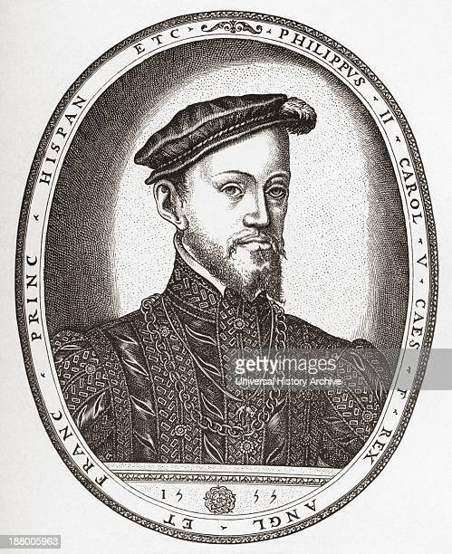 king phillip ii of spain king These letters from philip ii, king of spain, mainly to don diego de orellana de chaves, royal governor of spain's northern coast, date from the time of naval war.