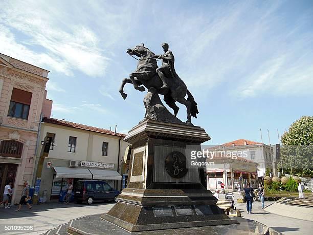 Philip II, Monument in Bitola, Macedonia