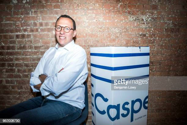 Philip Krim CoFounder and CEO of Casper poses for a portrait on August 2 2017 in New York City Casper is a popular directtoconsumer mattress company