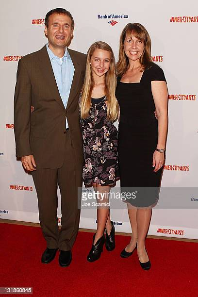 Philip Lily and Monica Rosenthal arrive to the InnerCity Arts' 2010 Imagine Gala at The Beverly Hilton hotel on November 4 2010 in Beverly Hills...