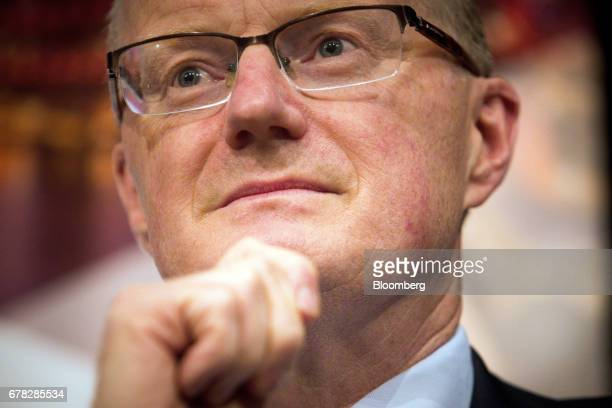 Philip Lowe governor of the Reserve Bank of Australia attends a Queensland Economic Society event in Brisbane Australia on Thrusday May 4 2017...