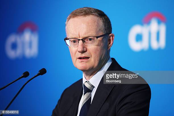 Philip Lowe governor of the Reserve Bank of Australia speaks at the Citigroup Inc Annual Australian New Zealand Investment Conference in Sydney...